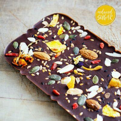 Carob Chocolate Bark Slabs